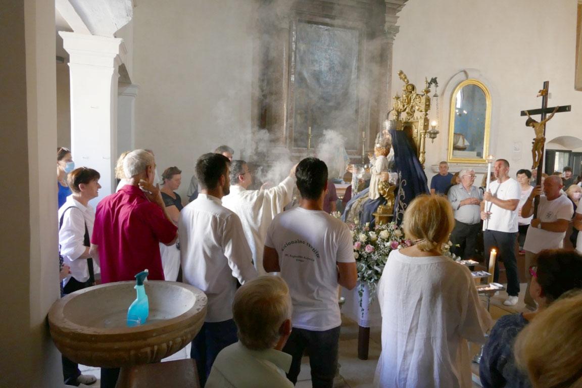 Proslava blagdana Velike Gospe u Trogiru